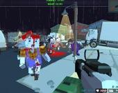 Безумная пиксельная стрельба 3D