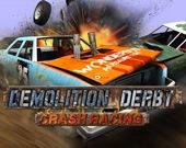 Автокрушение: гонка на снос