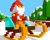 Скользящий Санта Клаус