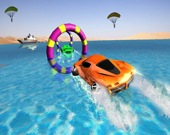 Floating Water Surfer Car Driving: Пляжные гонки
