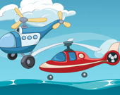 Игра на память: Забавные вертолёты