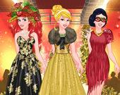Принцессы: Новогодний показ мод