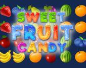 Сладкие фруктовые конфеты