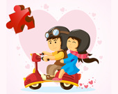 Пазл: День святого Валентина