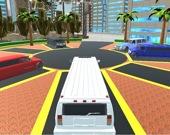 Роскошный городской лимузин-такси