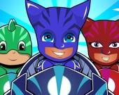 Герои в масках - детская гонка 3D