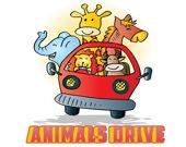 Животные за рулем - Пазл