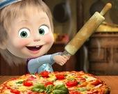 Маша и медведь - Пицца