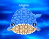 Pop it Подводный мир - Пазл