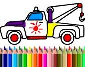 Раскраска: грузовики