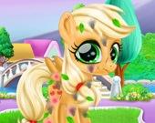 Забота о милом пони