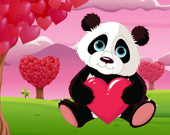 Пазл: Зверушки в День Святого Валентина