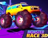 Гонка грузовиков-монстров 3D