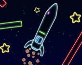 Неоновая ракета