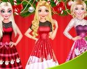 Рождественский шоппинг принцесс