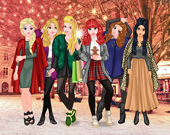 Принцессы: Рождественские соперницы