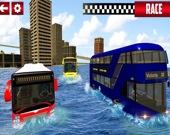 Экстремальный водный автобус-серфер: Симулятор