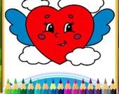 Раскраска Любовное предложение