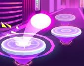 Прыжки цветного мяча 3D
