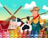 Раскрась ферму