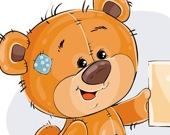 Медведь Тедди: коллекция пазлов