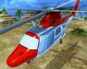 Спасение на веротолете: симулятор 3D