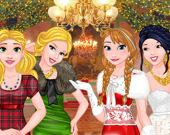 Большой рождественский бал принцесс