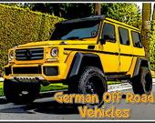 Пазл: Немецкие внедорожники