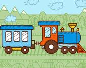 Раскраска: Поезда