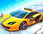 Настоящие трюки на такси 3D