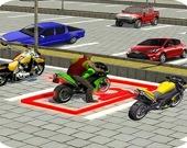 Городская парковка для байков