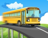 Гонка на школьном автобусе