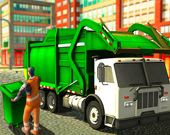 Настоящий мусоровоз