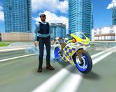 Полицейский мотогонщик