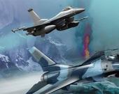 Сражение боевых самолетов