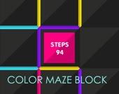 Лабиринт из цветных блоков
