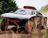 Собери Audi RS Q Dakar Rally