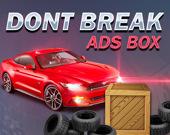 Не ломайте коробку с рекламой