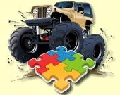 Пазл: Монстр грузовик