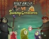Волшебники против болотных тварей