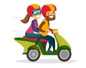 Найдите отличия в мотоциклах