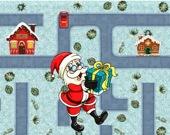Санта идет