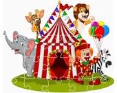Пазл. Цирк животных