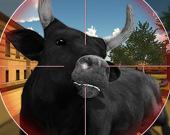 Стрельба по быкам