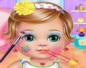 Одежда и макияж для малышки