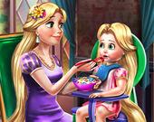 Принцесса Голди: Покорми малыша