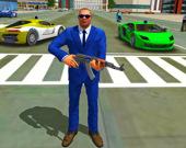 Полиция Преступности Города: игра-вождение