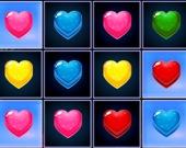 Три в ряд: Сердца