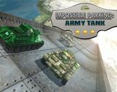 Невероятная парковка армейского танка