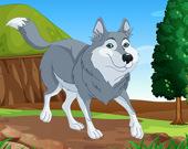 Пазл Волк